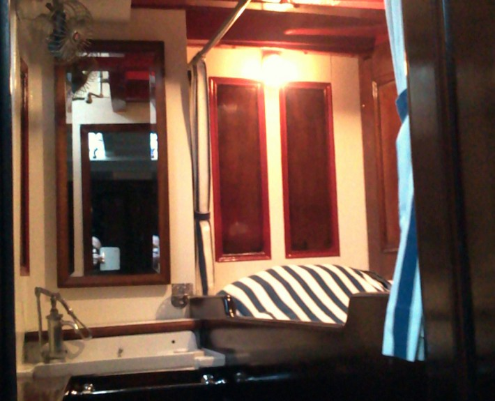 Refit of Carrina's owners cabin